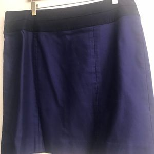 CAbi Pencil skirt in deep blue